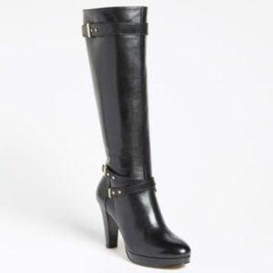 Cole Haan 'Air Cara' High Heel Leather boot -black